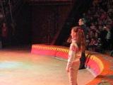 Отрывок моего участия  в номере  клоуна. Киевский цирк.