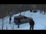 Эвакуация Шкоды Йети из снежного плена